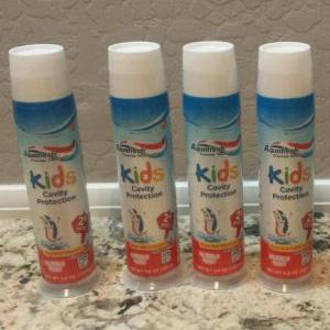 Aquafresh 2岁以上儿童牙膏130g*6支