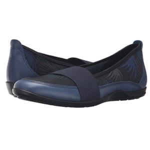 ECCO爱步Bluma女士休闲一脚蹬平跟鞋