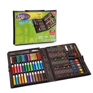 儿童节礼物!Darice 120件豪华艺术绘画工具