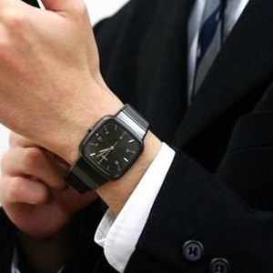 RADO雷达R5.5系列R28389162男款陶瓷时装腕表