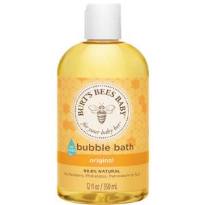 Burt's Bees小蜜蜂儿童泡泡浴 沐浴露 350ml*3瓶装