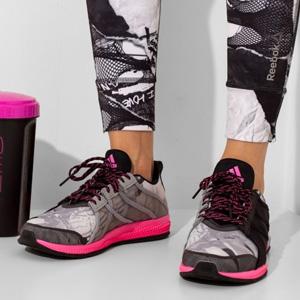 蔡依林同款!Adidas阿迪达斯Gymbreaker Bounce女士轻量缓震训练鞋
