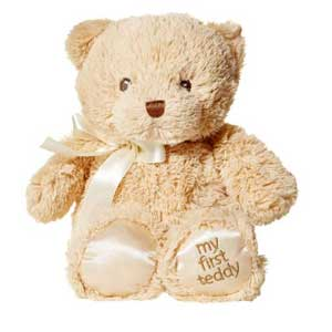 GUND  我的泰迪熊毛绒玩具25cm褐色