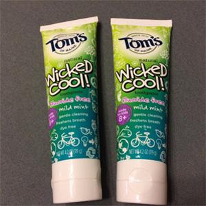 Tom's of Maine 无氟儿童牙膏119g*6支