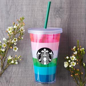 Starbucks星巴克官网有精选春季款马克杯、随行杯低至6折促销