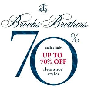 Brooks Brothers布克兄弟官网五一促销额外85折+折扣区低至3折