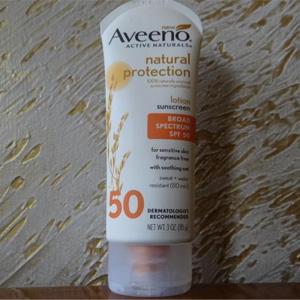 补货!Aveeno艾维诺 SPF50 柔和强效防晒乳 85g