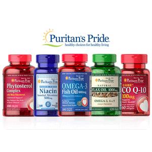 Puritan's Pride精选保健品买1送2/买2送4