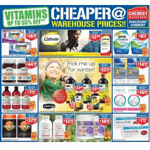 澳洲CW大药房5月优惠册导读 畅销品牌低至5折
