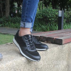 ECCO爱步Sneak女士真皮休闲运动鞋