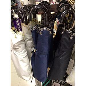 新低:WPC防晒防紫外线轻量折叠遮阳伞 黑色