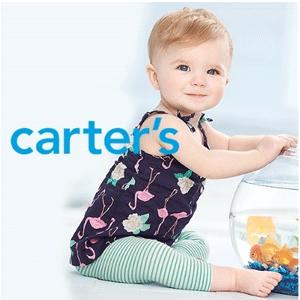 Carter's卡特童装官网全场低至3折+额外最高8折