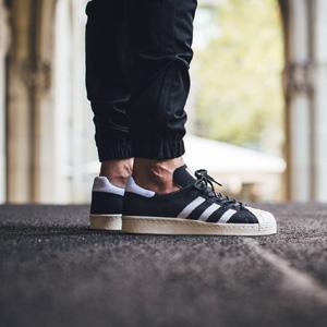 adidas阿迪达斯Originals Superstar 80S金标男士休闲板鞋