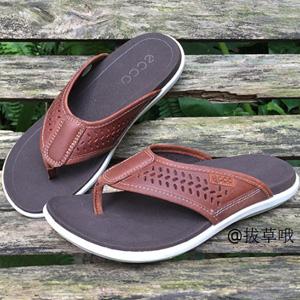 ECCO爱步 科林系列男士夹脚凉拖鞋