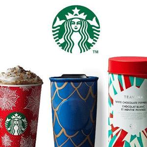 Starbucks星巴克官网母亲节促销额外85折