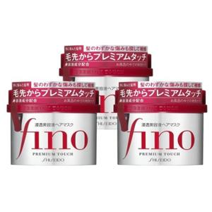 资生堂Fino美容液高效渗透发膜 230g*3罐