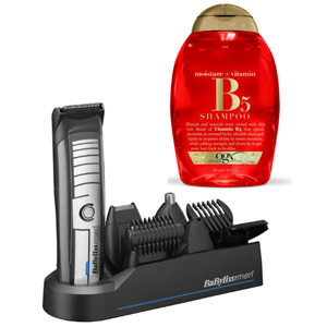 BaByliss芭比丽丝 毛发修剪器+OGX维生素B5保湿洗发水 385ml