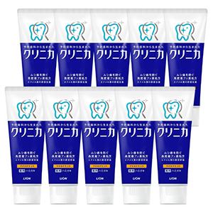 LION狮王酵素深层美白防蛀牙膏130g*10支 温和/超爽薄荷味