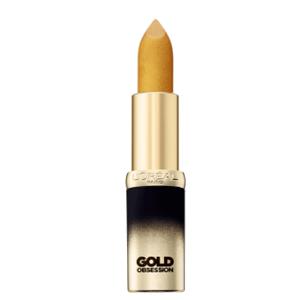 补货!L'Oréal Paris欧莱雅 纷泽琉金唇膏Pure Gold金色