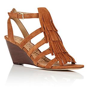 Sam Edelman女士真皮凉鞋