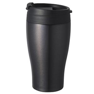 DOSHISHA真空保温保冷两用杯 CBCT400BK黑色360ml