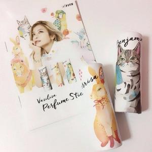 日本模特Rola香水品牌Vasilisa 动物图案固体香水 多款