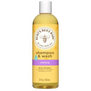 Burt's Bees小蜜蜂 婴儿二合一洗发沐浴露 350ml*3瓶