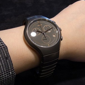 Rado雷达True真系列R27897102男款陶瓷腕表
