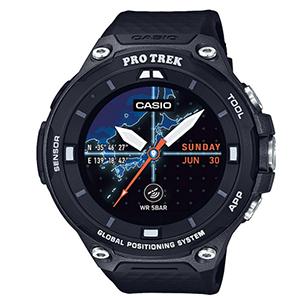 CASIO卡西欧WSD-F20-BK RPO TREK GPS智能手表