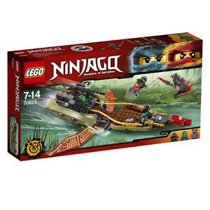 LEGO乐高 Ninjago幻影忍者系列 70623 忍者命运飞影号