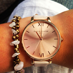 Olivia Burton Big Dial系列女士时装腕表