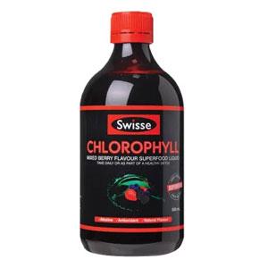 Swisse 排毒养颜 叶绿素 梅子味 500ml*2瓶