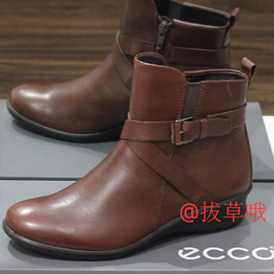 ECCO爱步Felicia女士短靴 棕色