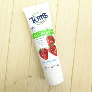 Tom's of Maine儿童天然草莓味含氟牙膏