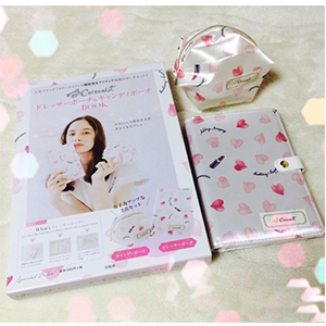 日本Cocoonist化妆包+化妆刷收纳夹套装