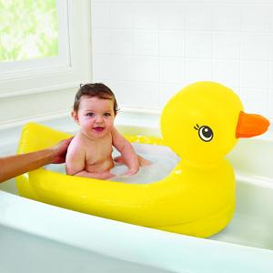 Munchkin麦肯奇 鸭子造型婴儿充气浴盆