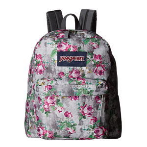 JanSport Spring Break 印花背包