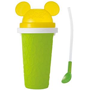 DOSHISHA创意自制冰激凌杯 果汁杯DFDN-15G 绿色款