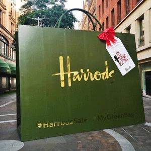 Harrods百货年中大促时尚鞋服等低至7折