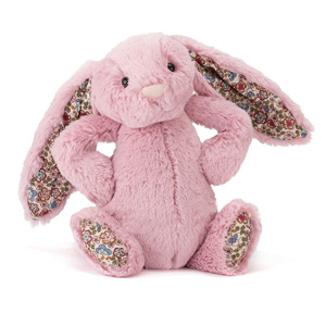 Jellycat 邦尼兔儿童毛绒玩具 郁金香花耳朵 中号31cm