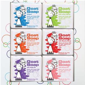 Goat Soap纯手工羊奶皂 100g*6块装
