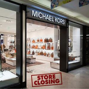 业绩下滑!Michael Kors计划关闭在美125家实体店铺
