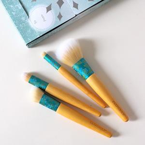 EcoTools超级柔软化妆刷四件套 节日礼盒装