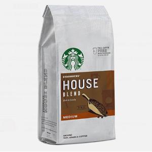 Starbucks星巴克 House Blend 研磨咖啡粉200g*6袋