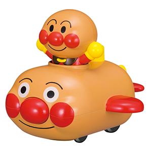 面包超人 发条动力回力惯性小车玩具