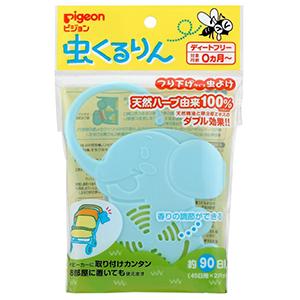 Pigeon贝亲 婴儿防蚊虫挂件 天然香茅精油 90日