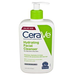 CeraVe 低泡温和保湿泡沫洁面乳473ml