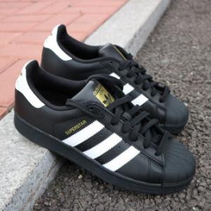 Adidas Superstar 男士金标贝壳头休闲鞋