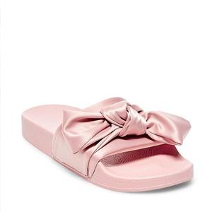 Steve Madden Slate 女款灰粉色拖鞋 两色