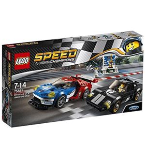 LEGO乐高 2016福特GT与1966福特GT40 75881